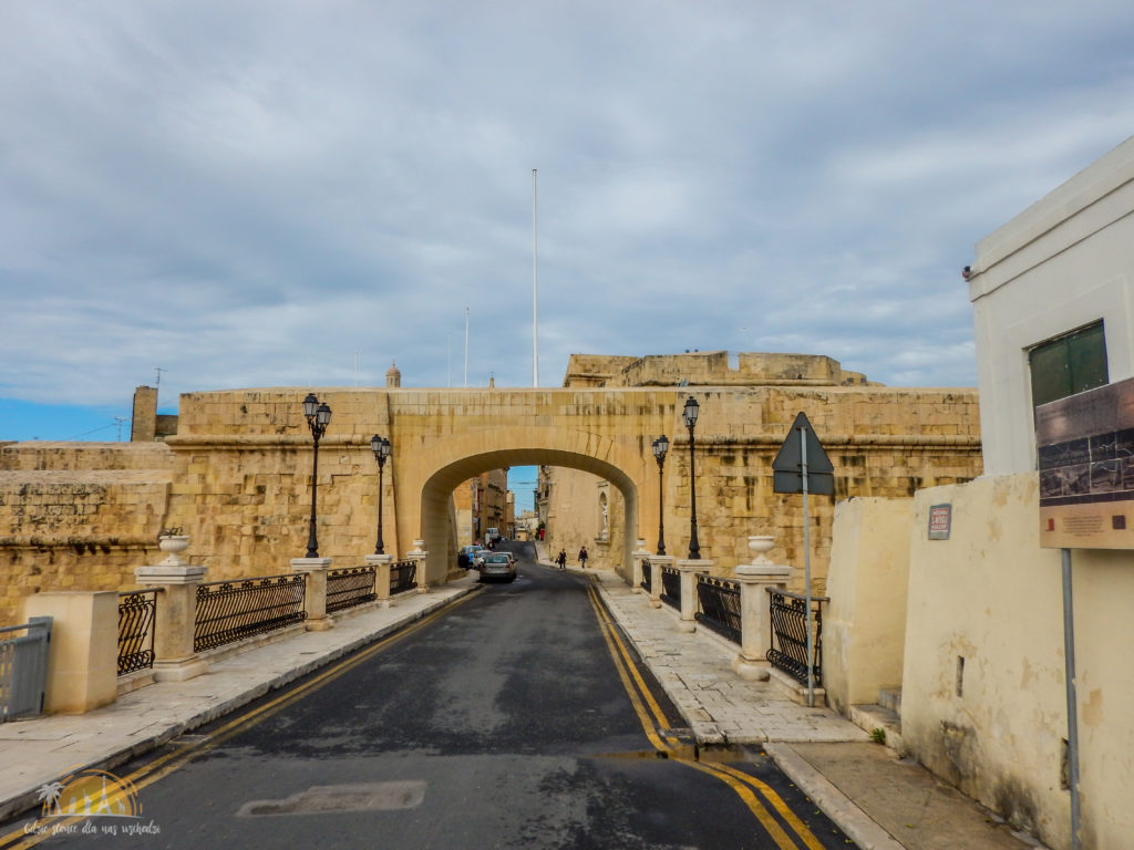 Brama do miasta Vittoriosa