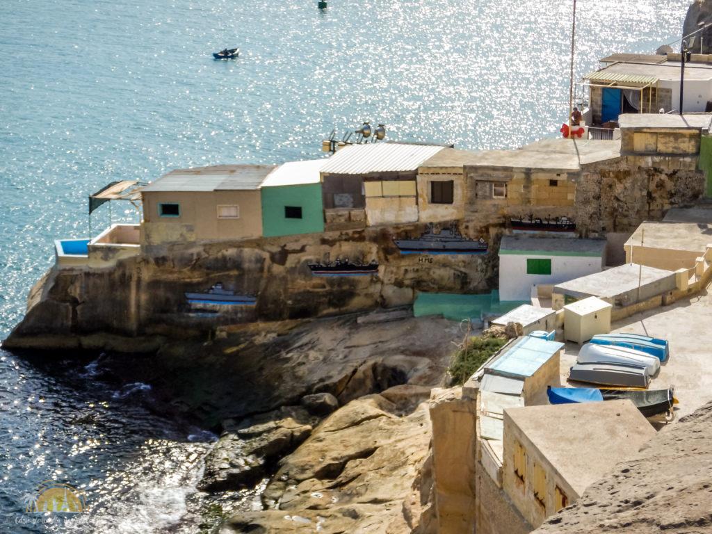 Domki rybackie w Valletcie