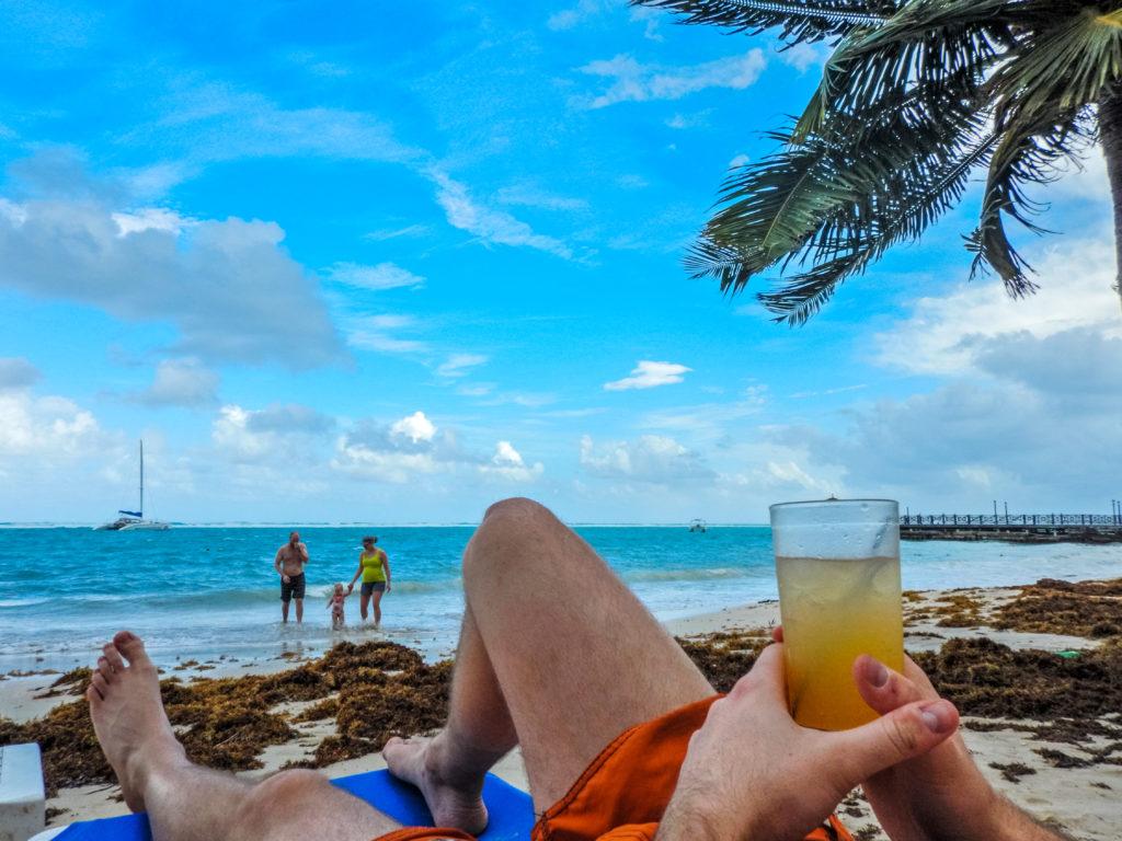 Jamajka - Plaża w Ocho Rios