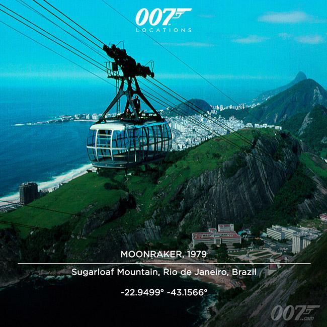 Moonraker 007 Paõ de Açúcar
