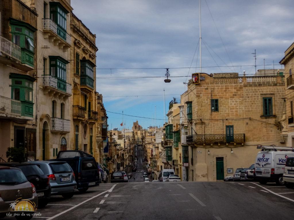 Victory Street w mieście Sanglea