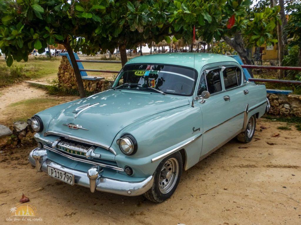 1953 Plymouth Savoy, nasz transport z plaży w Cienfuegos