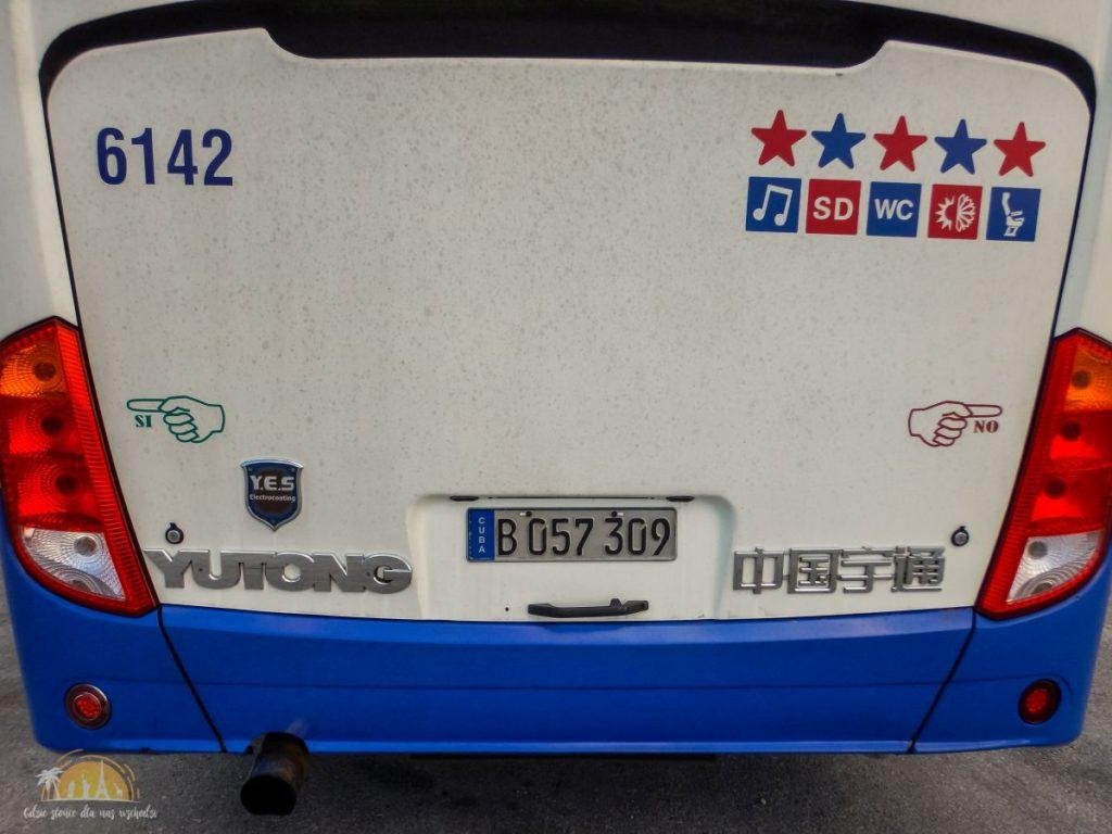 Pięciogwiazdkowe chińskie autobusy