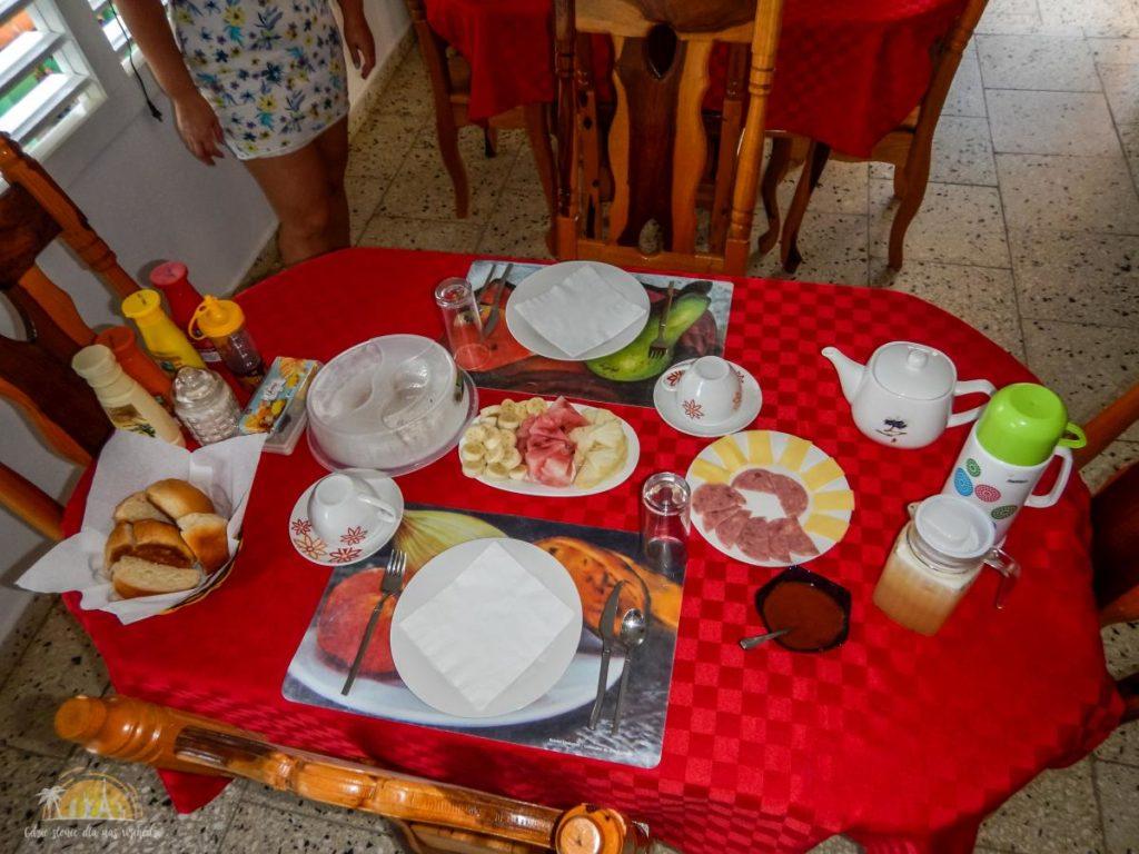 Śniadanie w Vinales