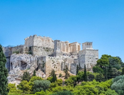 Świątynia Nike i Propyleje Ateny