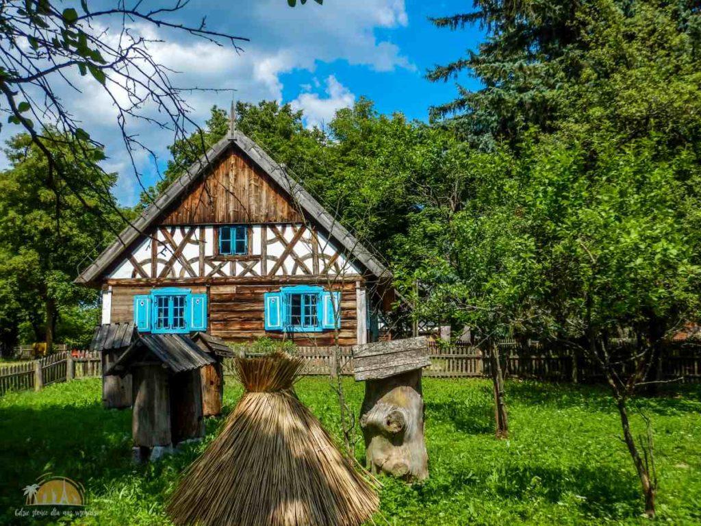 Chałupa ze wsi Bartążek