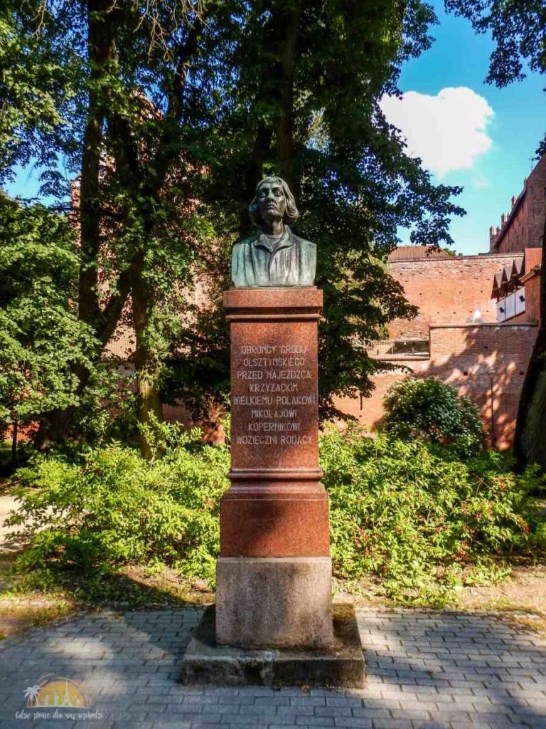 Kopernik w Parku Podzamcze