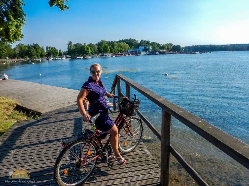 Rowerki nad jeziorem Ukiel