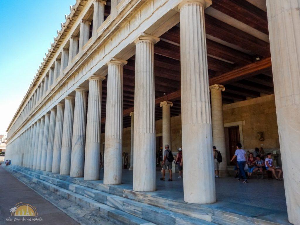 Stola Attalosa – Muzeum Agory
