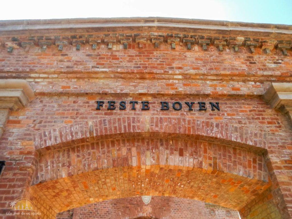 Wejście do Twierdzy Boyen