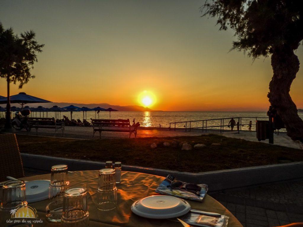Grecja Peloponez Korynt plaża Kalamia