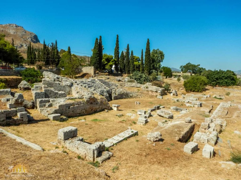Grecja Peloponez Korynt teatr