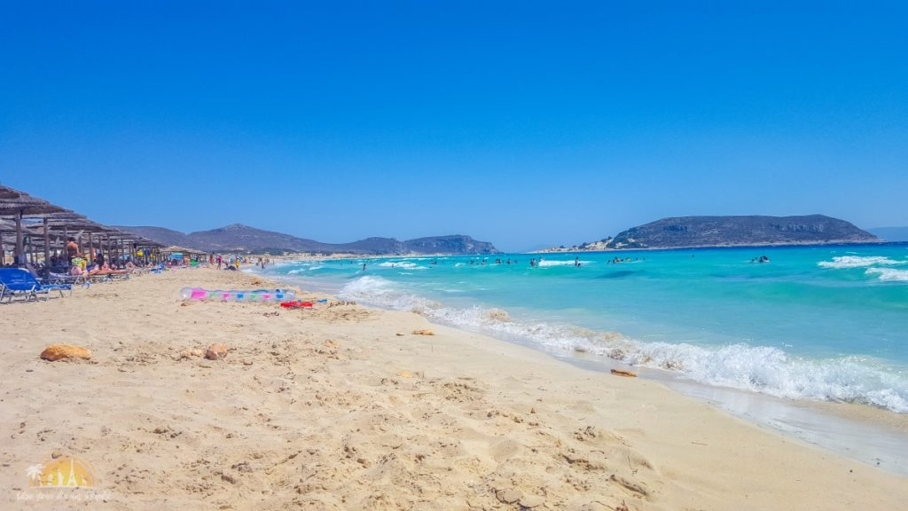 Grecja Elafónisos plaża Simos