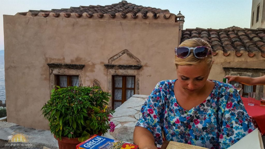Grecja Monemavasia restauracja