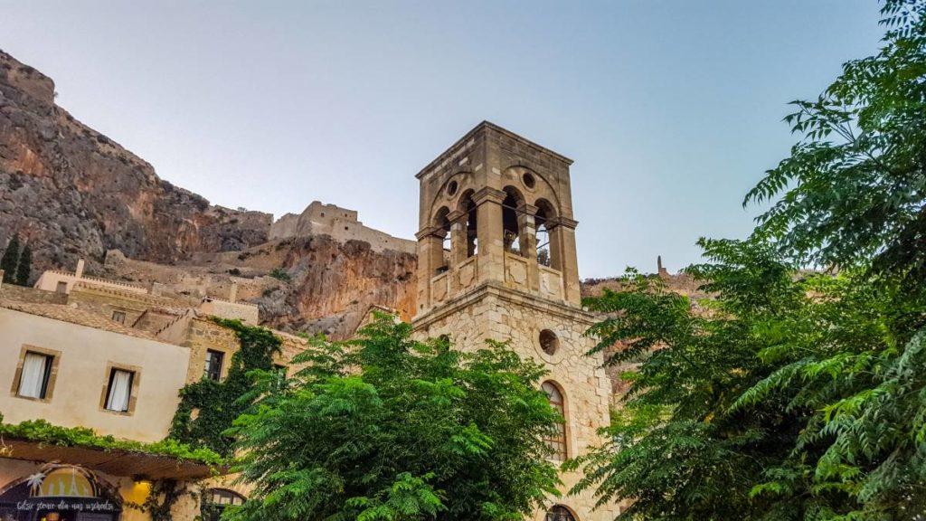 Grecja Monemavasia kościół Elkomenós Christós