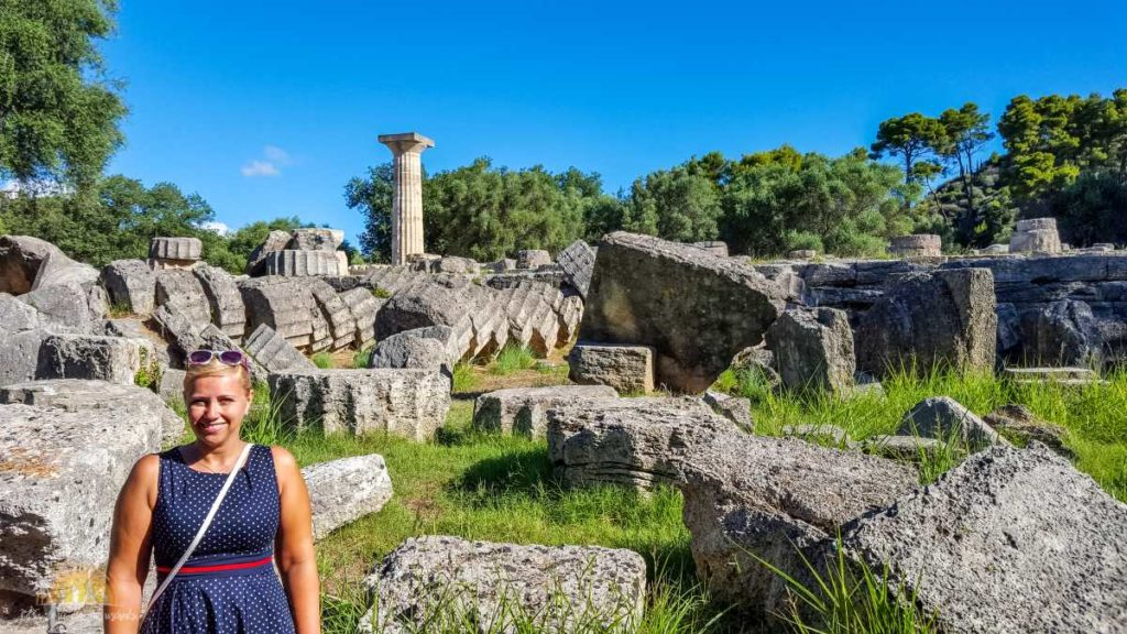 Grecja Olimpia świątynia Zeusa