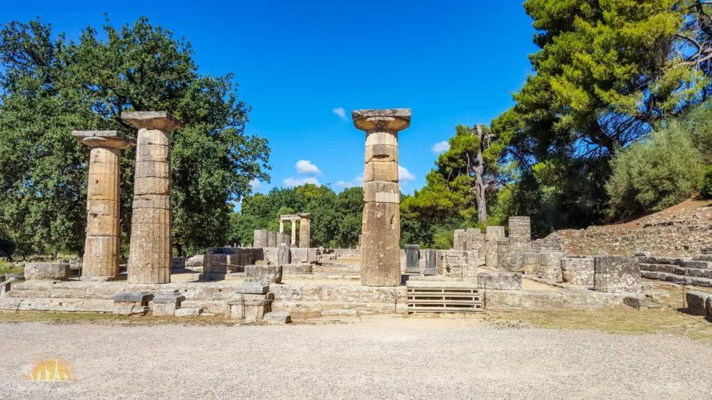 Grecja Olimpia ołtarz Hery