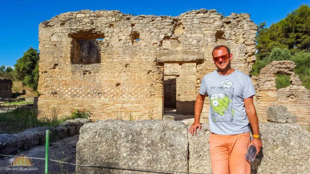 Grecja Olimpia warsztat Fidiasza