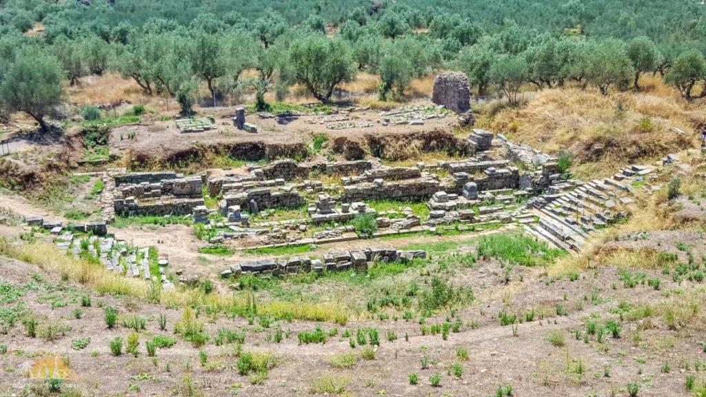 Grecja Sparta - ruiny teatru