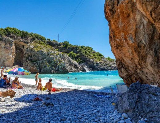 Grecja plaża Foneas