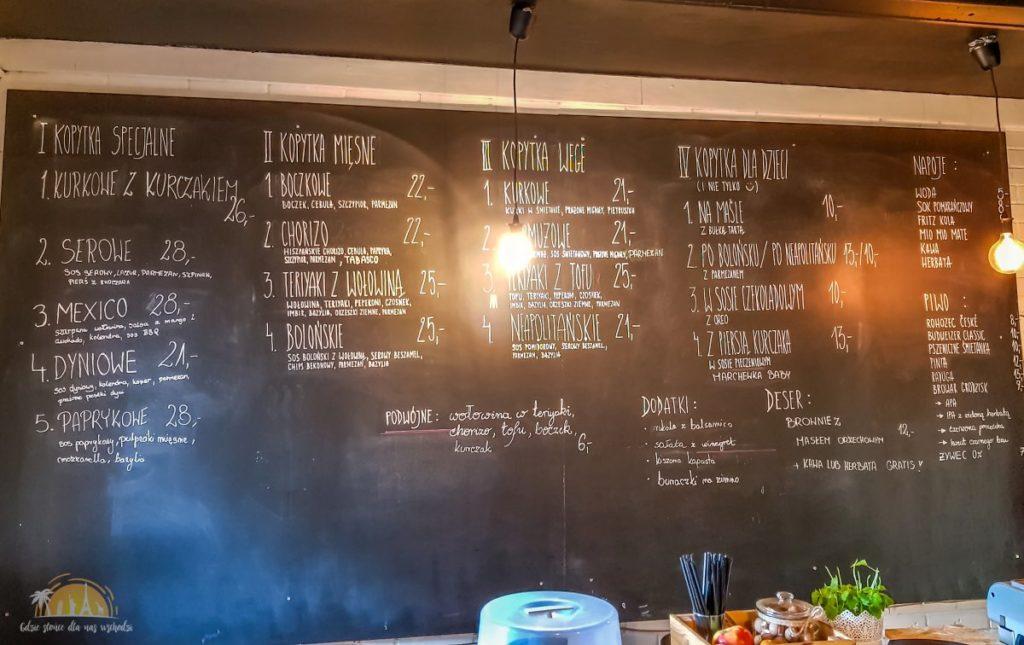 4 alternatywy poznan restauracja menu