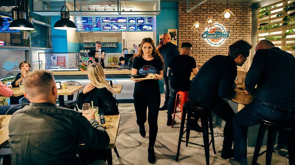 SeaFood Bar&Market restauracja Wrocław 1