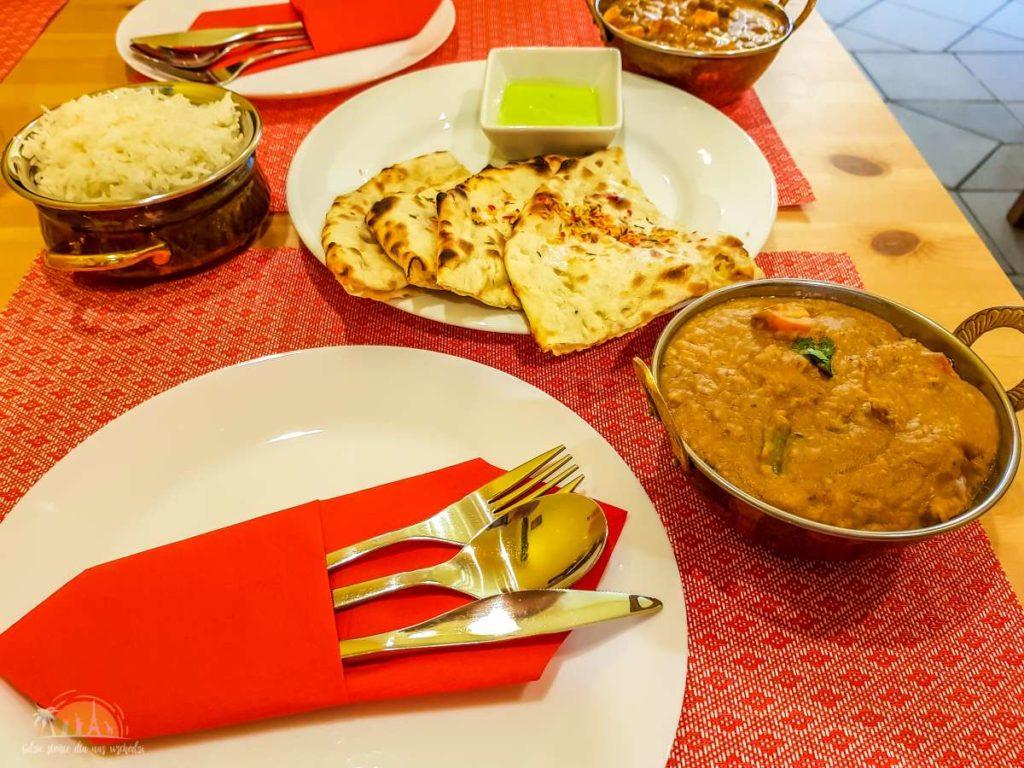 Taj Mahal Poznań restauracja indyjska 5