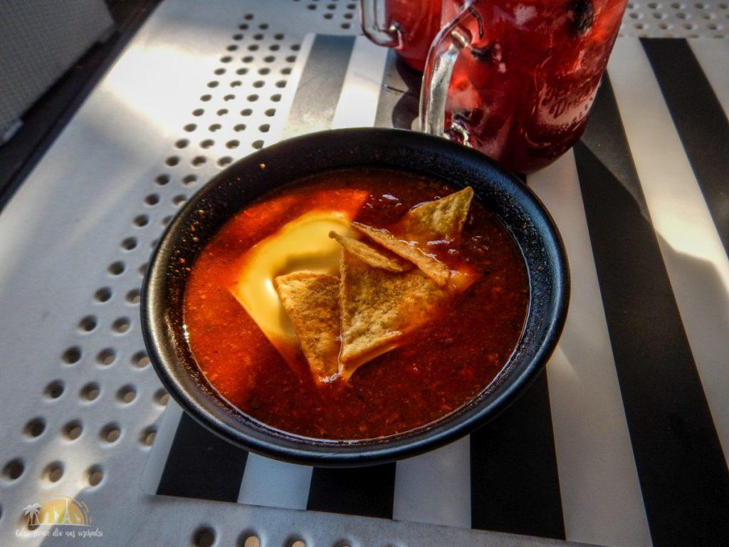 podkladka restauracja zupa