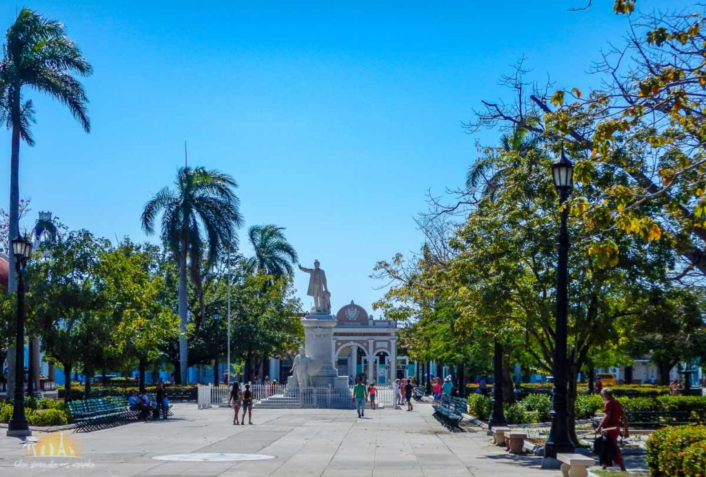 Kuba Cienfuegos Parque José Martí