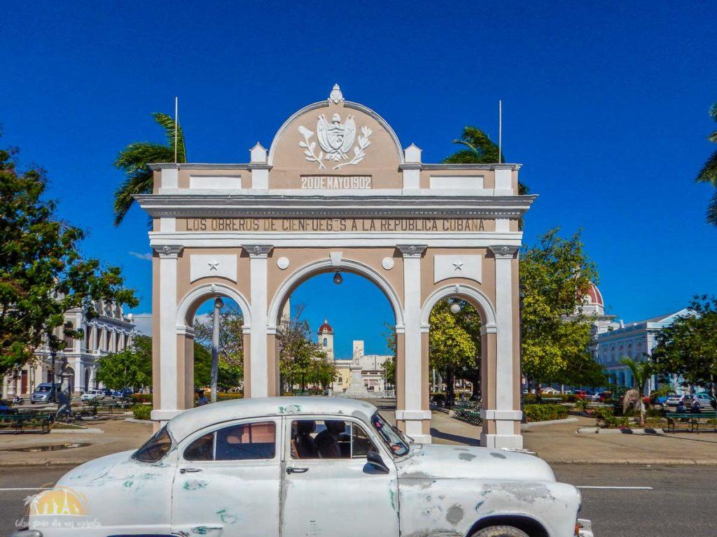 Kuba Cienfuegos Parque José Martí 3