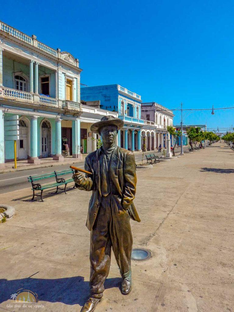 Kuba Cienfuegos pomnik Benny Moré