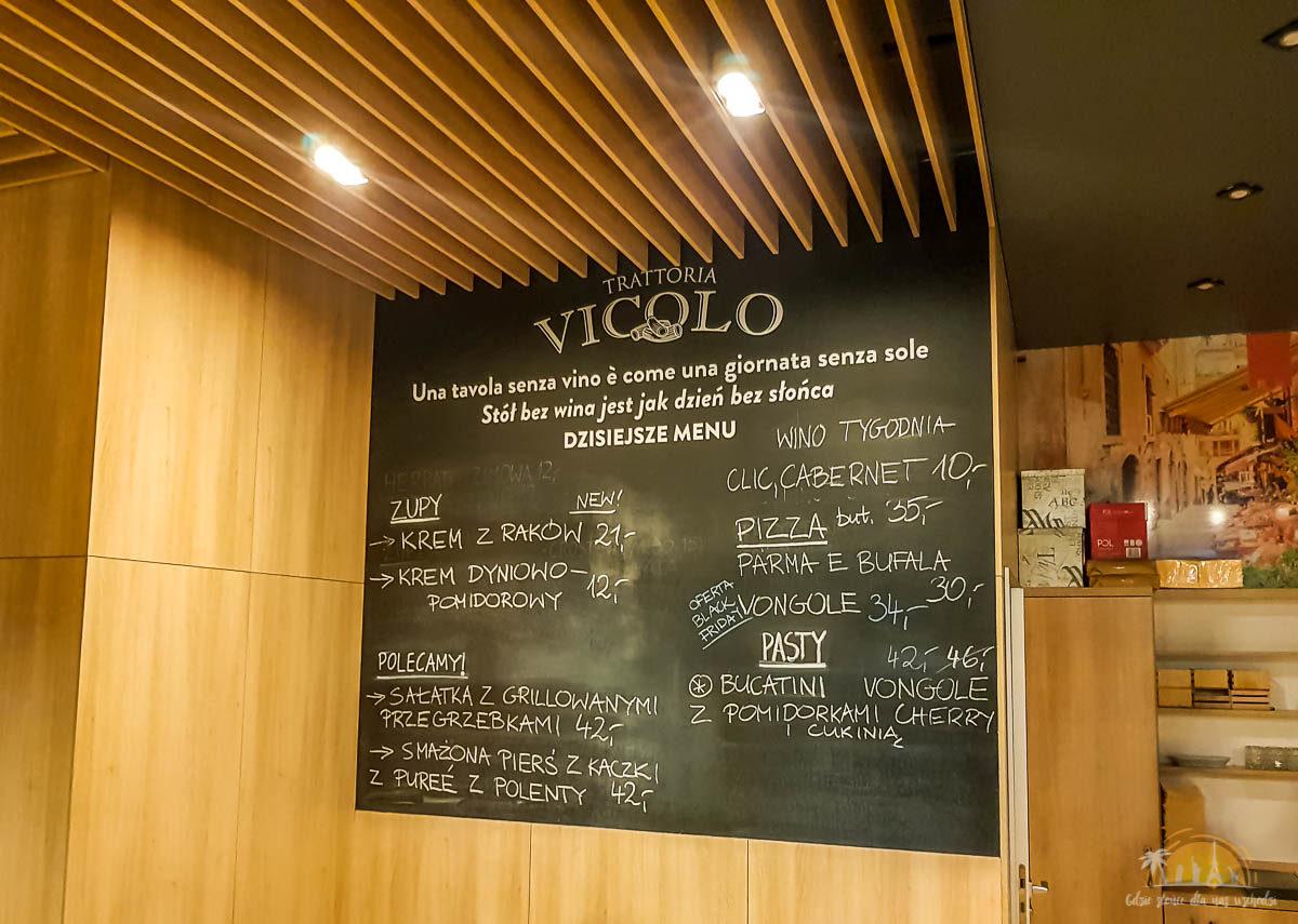 Trattoria Vicolo poznan wnetrze 2