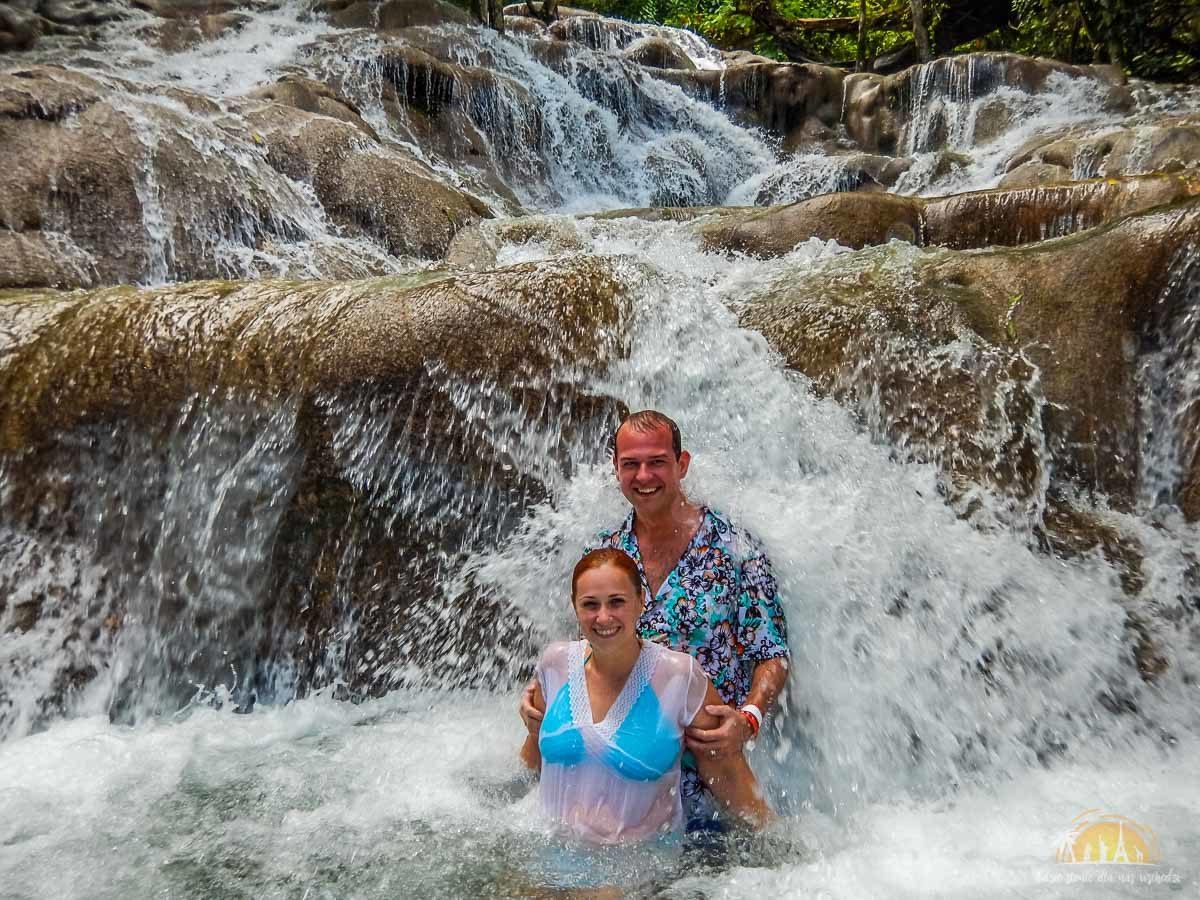 Jamajka atrakcje wodospady dunns river falls 12