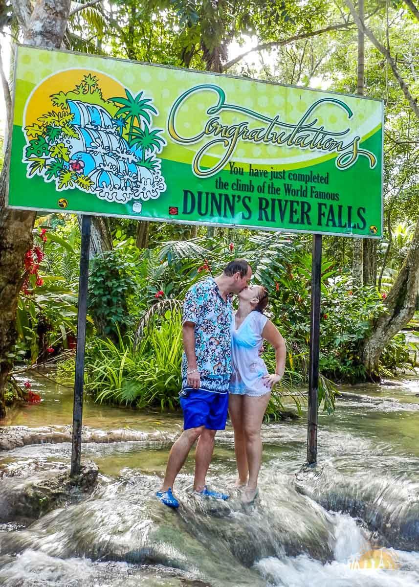 Jamajka atrakcje wodospady dunns river falls 9