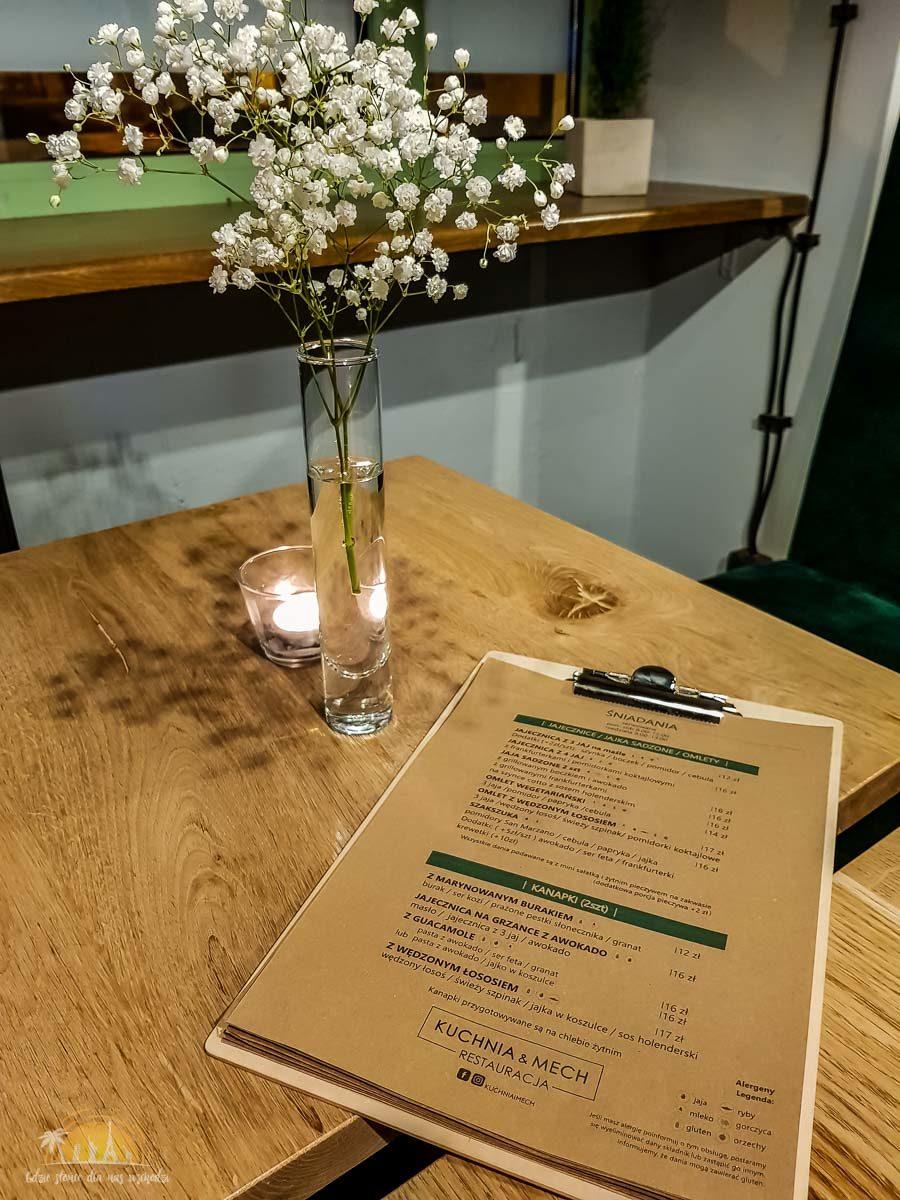 Kuchnia & Mech restuaracja poznań menu
