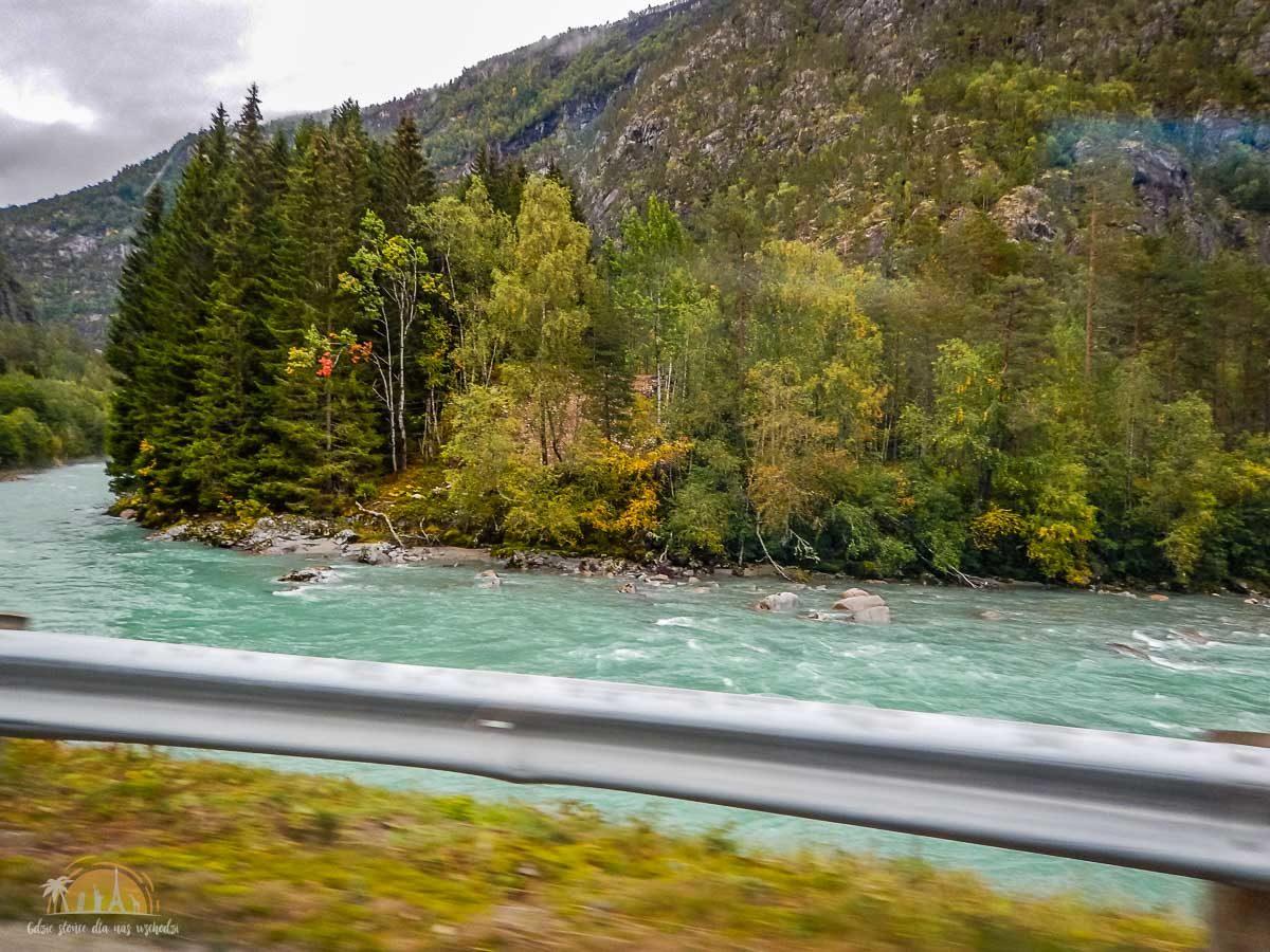 Lodowiec Nigardsbreen Norwegia trekking 1