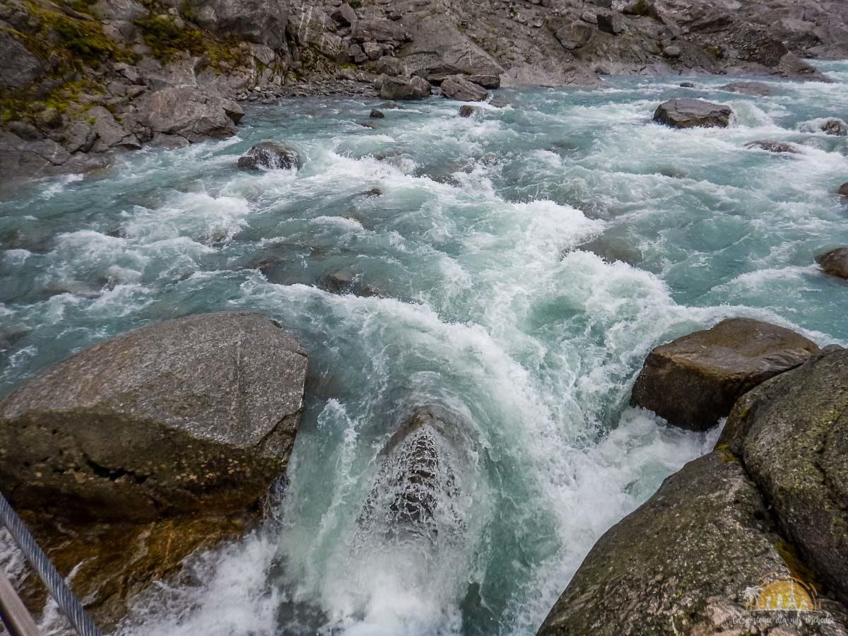 Lodowiec Nigardsbreen Norwegia trekking 10