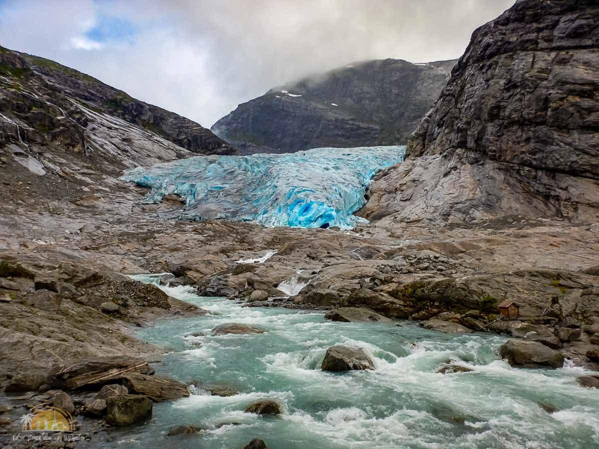 Lodowiec Nigardsbreen Norwegia trekking 12