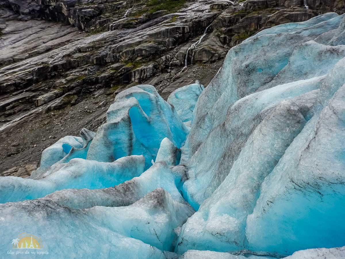 Lodowiec Nigardsbreen Norwegia trekking 14
