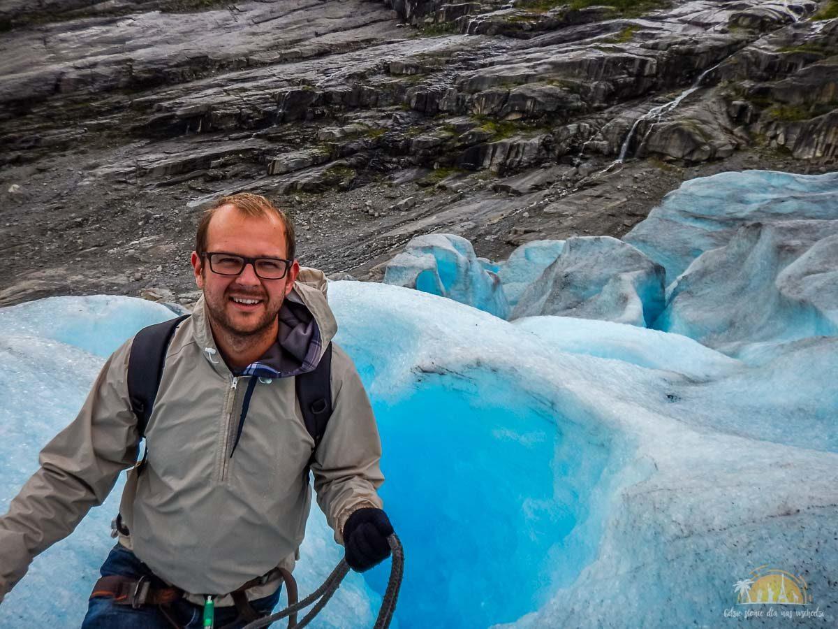 Lodowiec Nigardsbreen Norwegia trekking 17