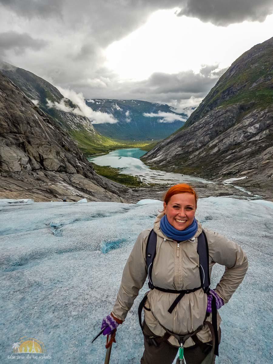 Lodowiec Nigardsbreen Norwegia trekking 19