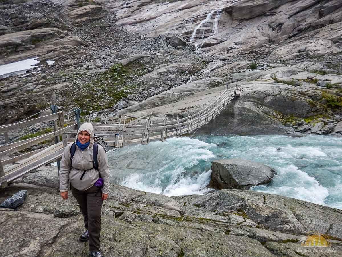 Lodowiec Nigardsbreen Norwegia trekking 25