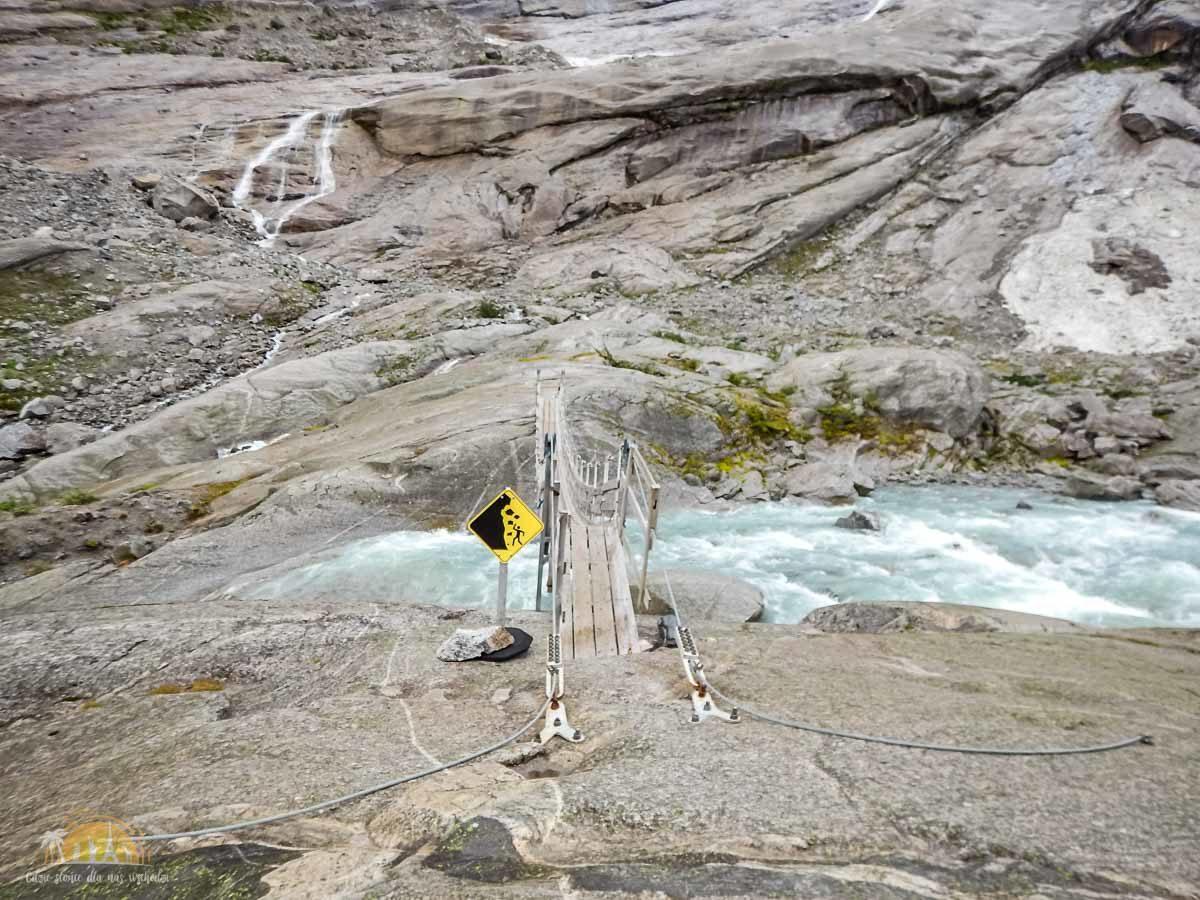 Lodowiec Nigardsbreen Norwegia trekking 9