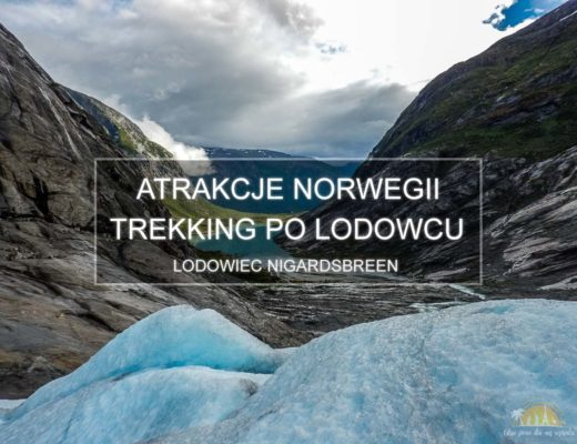 Lodowiec Nigardsbreen Norwegia trekking mini