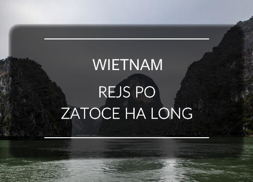 Wietnam zatoka Ha Long mini
