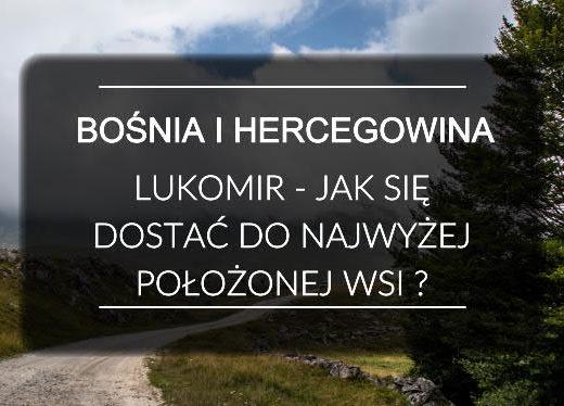 Bośnia i Hercegowina Lukomir