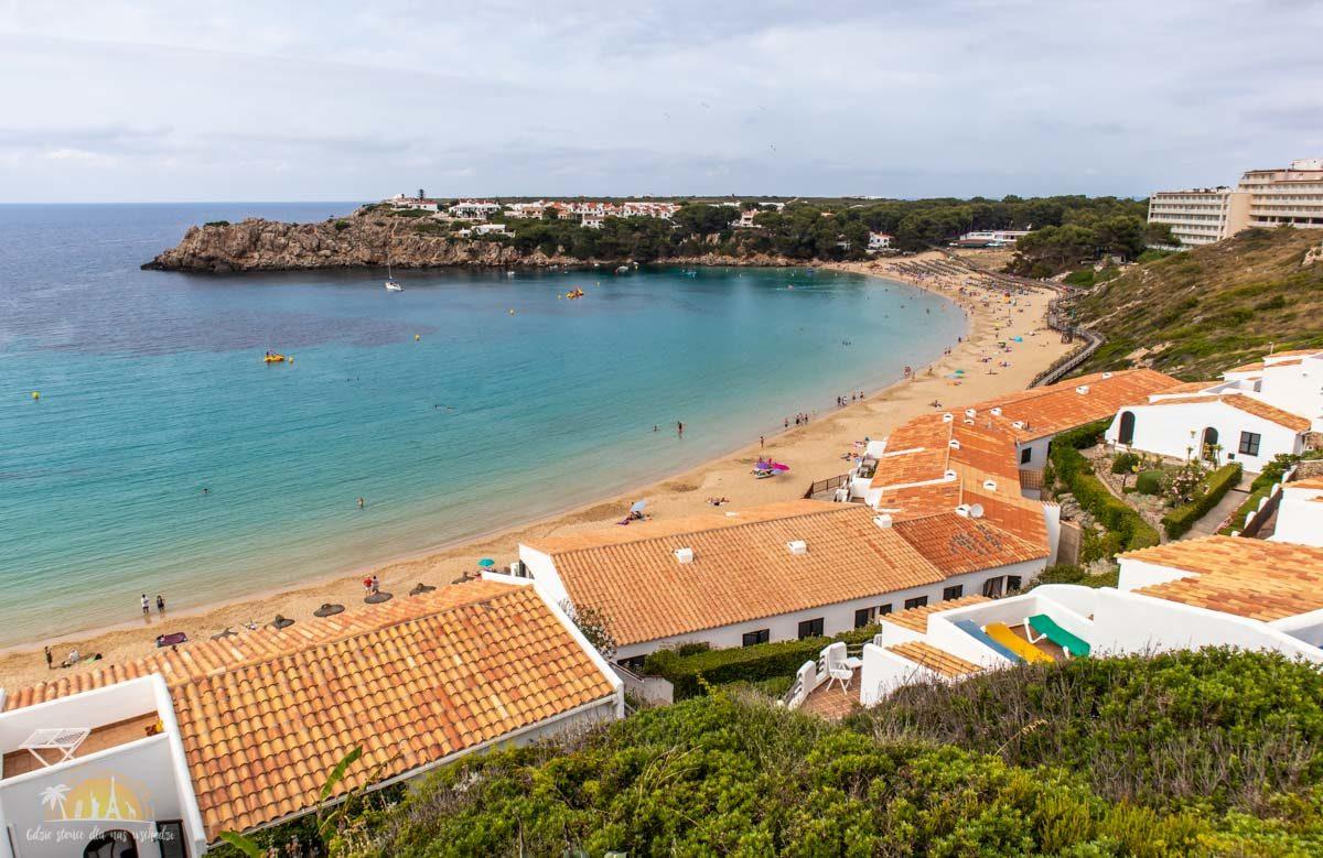 Minorka plaża Arenal d'en Castell 1