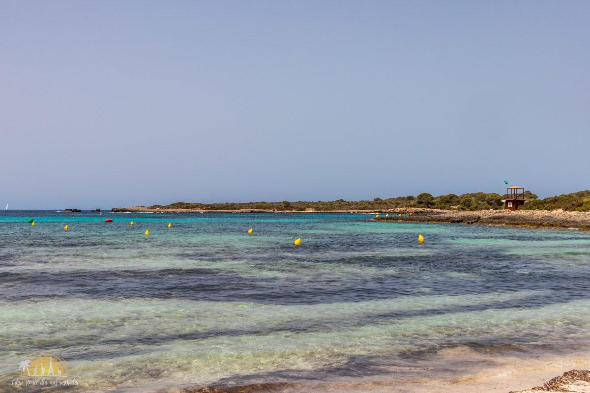 Minorka plaża Benyulus Son Saura 1_