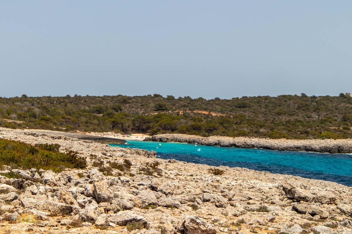Minorka plaża Cala des Talaier 1