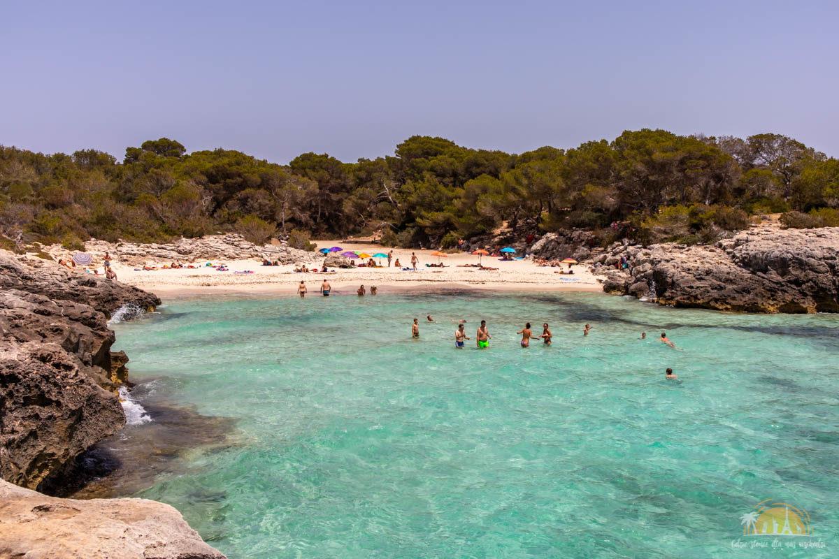 Minorka plaża Cala des Talaier 3